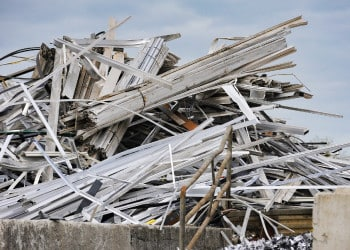 scrap metal recycling for demolition